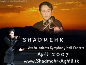 Pic Concert Atlanta  Shadmehr